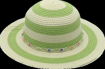T38-1Children Paper Straw Hat Summer Hats