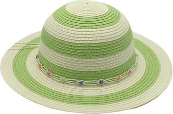 T38-1Children Paper Straw Hat Summer Hats