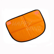 Best selling foldable half round office outdoor car seat cushion