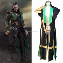 Wholesale Halloween costumes for adult Loki Marvel The Avengers Thor Loki cosplay costume