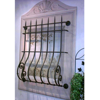 House Iron metal decorative window security bars