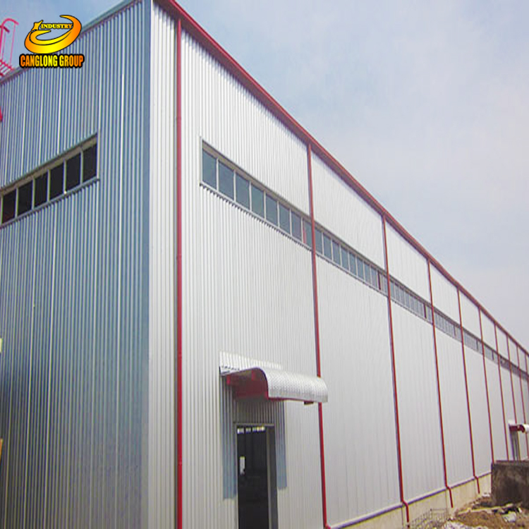 Light frame prefabricated steel metal buildings kits