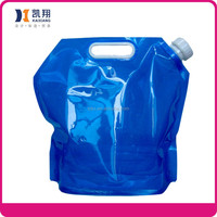 5L collapsible Hiking water Drinking bag