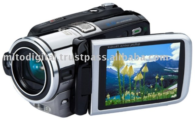 HD-7Z HD Digital Video Camera With 5X Optical Zoom