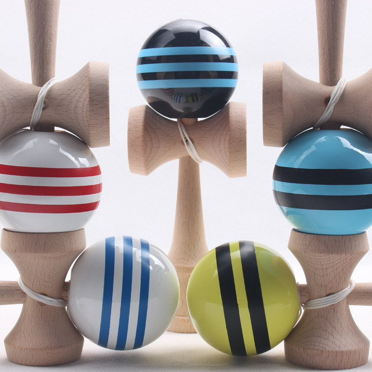 Wholesale Stocks Kendama Ball Wooden Kendama