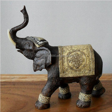 polyresin decoration elephant animal figurines resin
