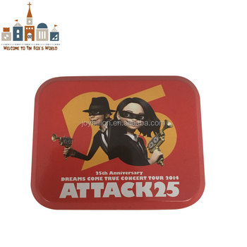 cartoon mint packing tin box candy package tinplate box