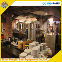 electrical heating beer brewing equipment,200L restaurant small beer brewery equipment