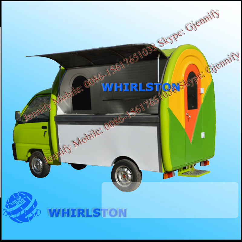Mobile Food Kithchen Vehicle/Fast Food Vending Vehicle/Electric Ice Cream Vehicle