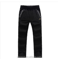 OEM customized lgo Fashionable Track wholesale Cheap Custom Pants Material For Zipper Packet