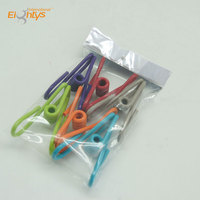 flair design metal wire pegs clothes clamp retaining spring clips