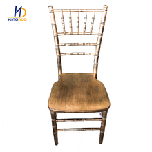 KINGNOD Fashionable Wooden Outdoor <strong>Furniture</strong> Wedding Chair Wholesale