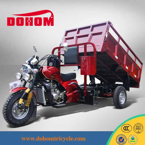 Chongqing DOHOM Hot Three Wheel Motor Tricycle for Cargo with hydraulic lifter DH250ZH-14