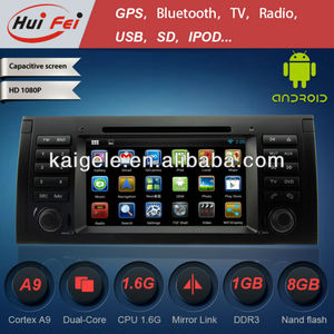Huifei stereo touch Screen in Car CD DVD audio Player Support USB flash drive with maximum 32G compatibility