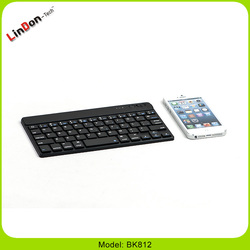 ABS Bluetooth Keyboard for iPad wireless keyboard for laptop smartphone BK812