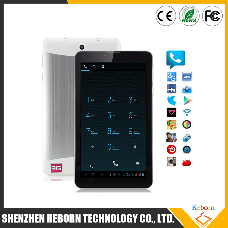 andriod tablet 3g 7 inch MTK6572 Dual core phablet