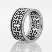 Mens jewelry Wholesale 316Lstainless steel gear ring