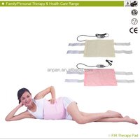 2014 New product MHP-E1215D FIR Neck Shoulder Massage Therapy health battery operated heating pad