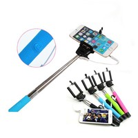 Multi-function Mobile Phone Holder WIth Cable Take Pole,Bluetooth Monopod Selfie Stick