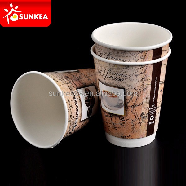 Disposable wholesale double wall coffee paper cup buyer