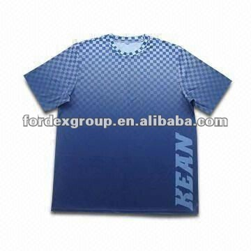 Sublimation Full Print T-shirt dri fit shirts wholesale blank dri fit t-shirts wholesale
