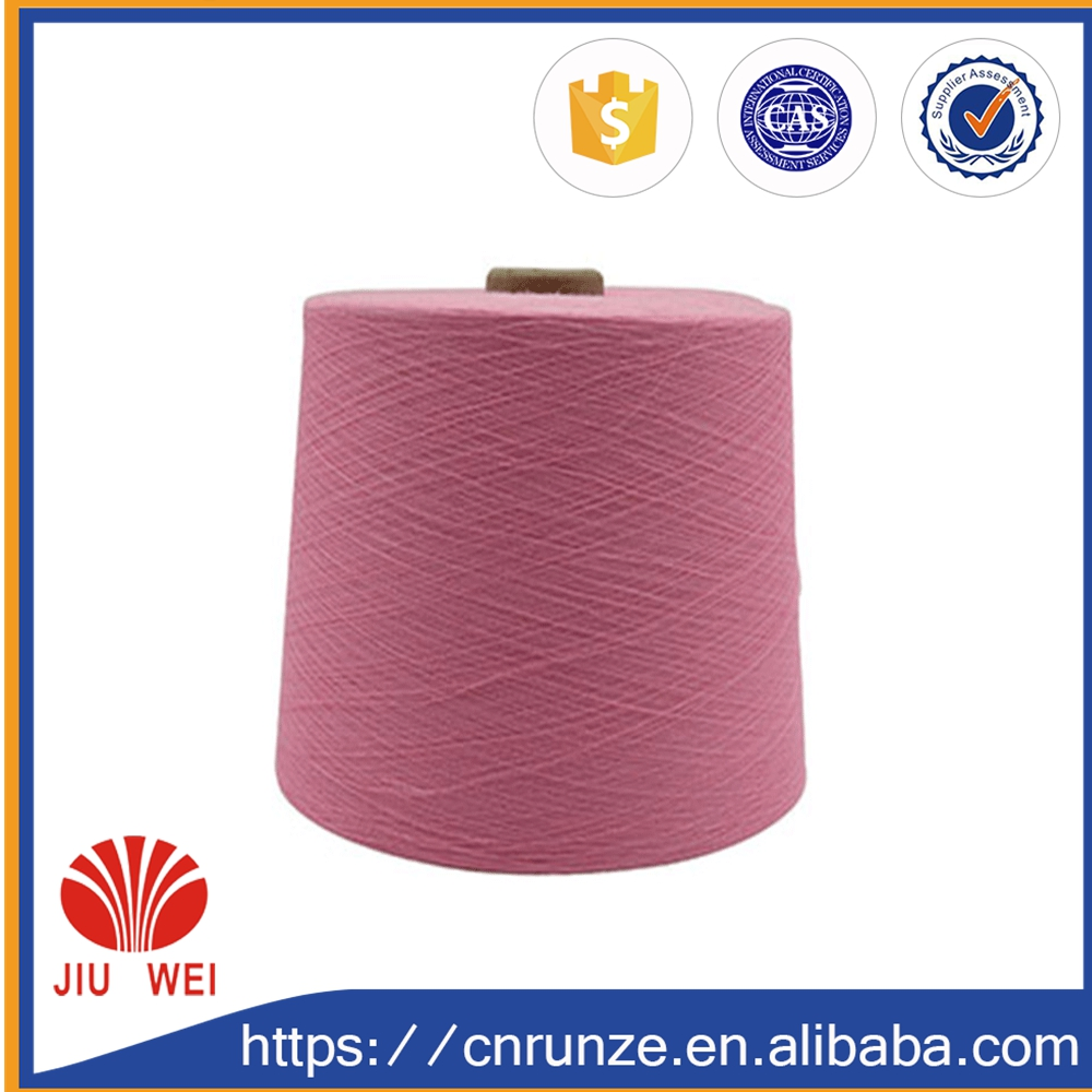 100% knitting yarn wholesale china t shirt cotton yarn
