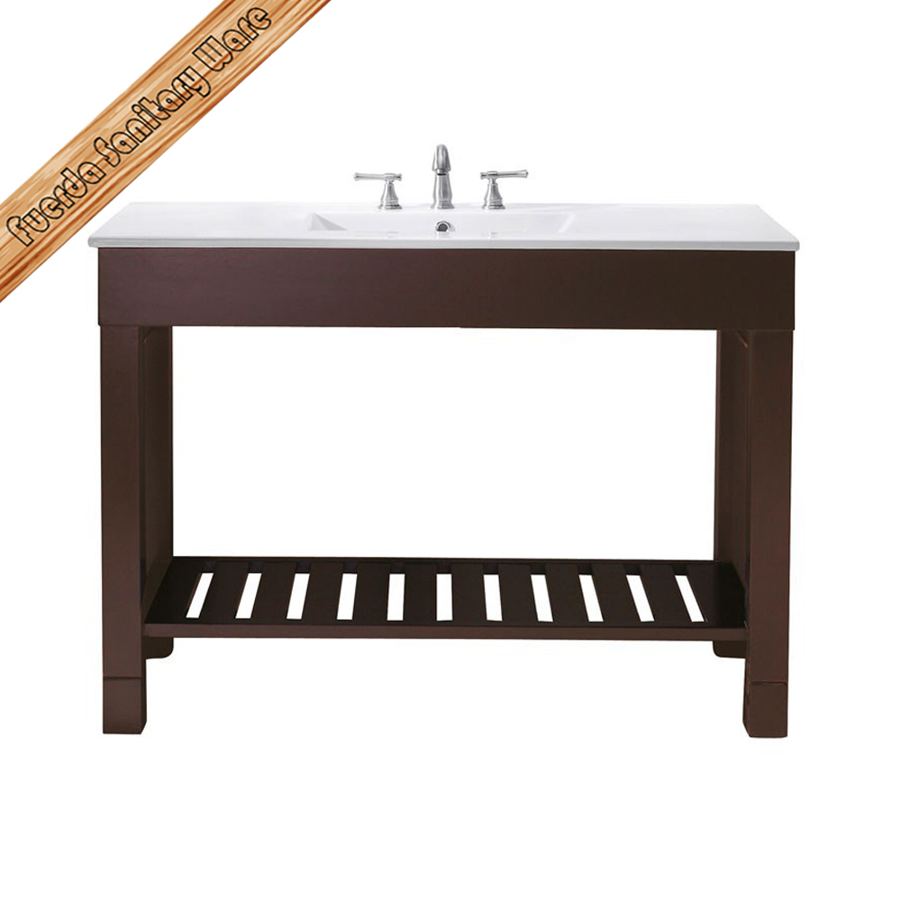 Inch Cheap Corner Bathroom Vanities Bath Cabinets With Integrated Sink ...