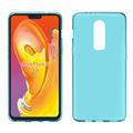 clear Transparent groove tpu mobile phone case for oneplus 6