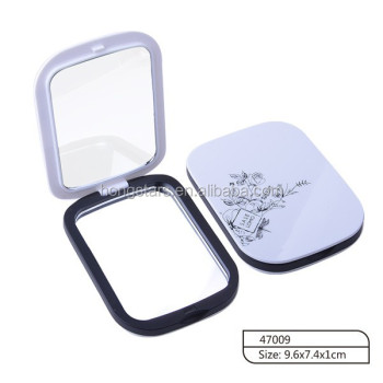 Wholesale high quality oil control blotting paper for face with mirror and ABS case