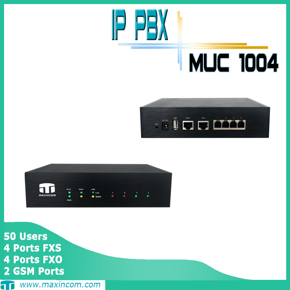 voip pbx, embedded pbx asterisk, maxincom pbx phone system support install 3G module