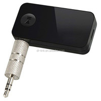 Factory direct supply! Hot sale good quality 3.5mm Wireless Car Kit Handsfree Stereo USB Bluetooth Audio Music Receiver