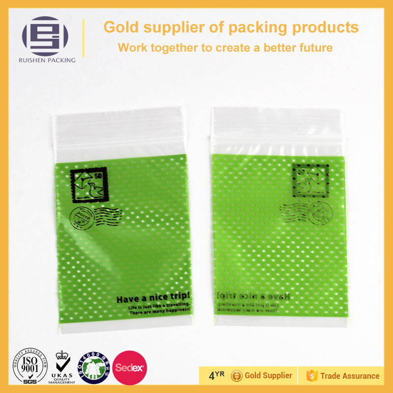 Customized High Quality Ldpe Material Plastic Ziplock Bag For Spices