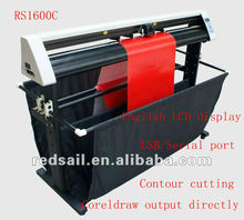 Low Price ! Redsail Large Format price of Plotter machine RS1600C CE & RoHS World Brand , CE & ROHS