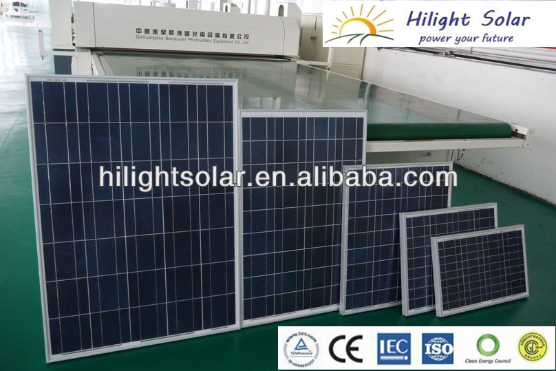 210W Polycrysrystallie PV solar panel with TUV, ISO, CE, CEC, INMETRO, IEC61215, IEC61730, including the Fire Test MST-23 AS/NZ