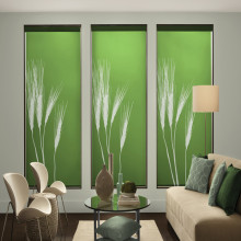 Natural image for roller blinds printed fabric for roller blinds