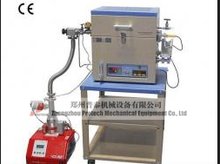 high temperature atmosphere mini vacuum tube furnace heated by resistance wire