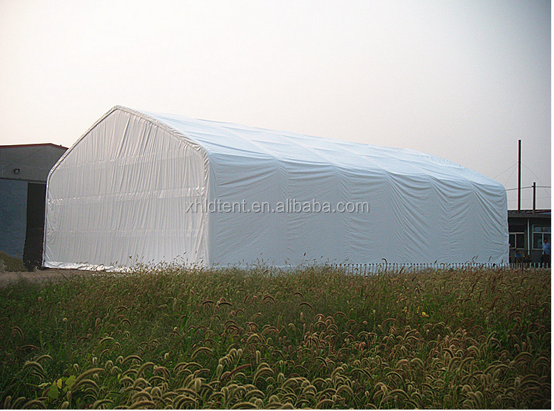 XH4080 wholesale outdoor warehouse tent/shelter steel structure