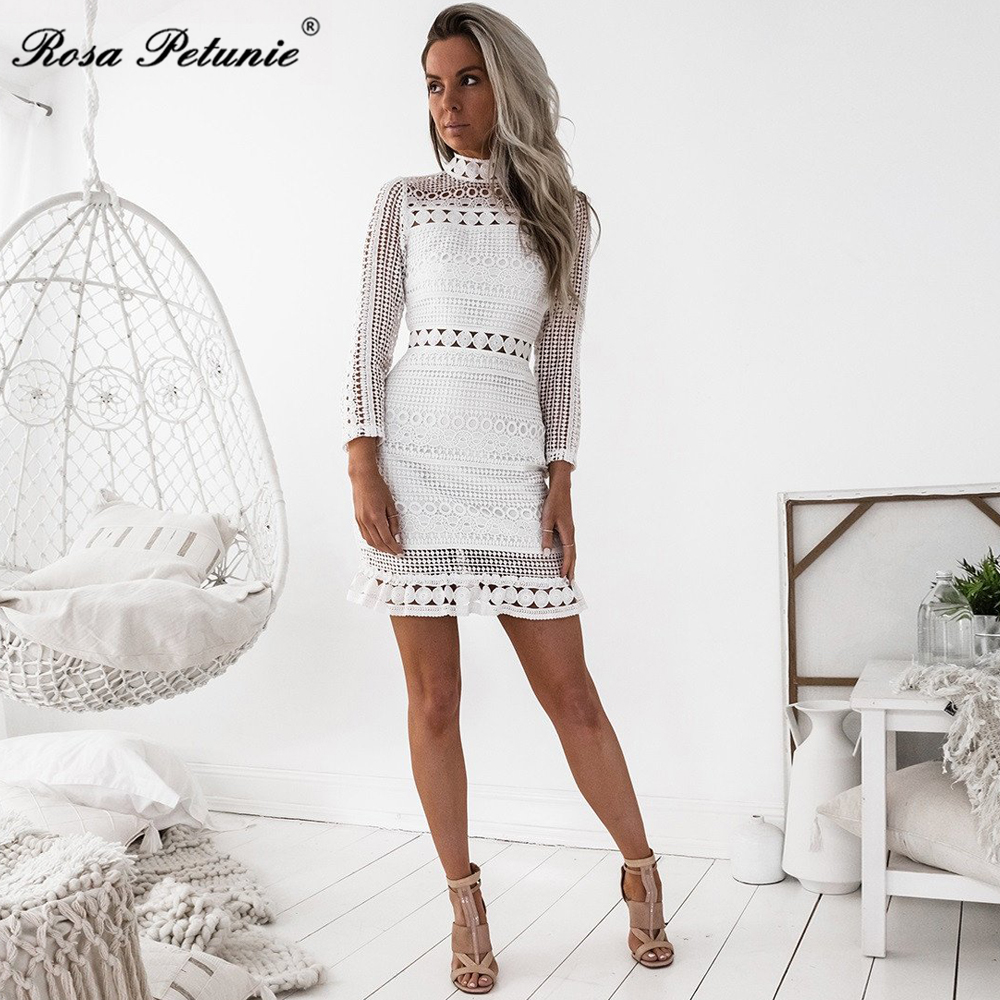 HTB17BToeAfb uJjSsrbq6z6bVXaB - Winter 2018 New Sexy White Lace Dress Women's High Quality long Sleeve Embroidery Cutout Elegant Dress Hollow Out Vestidos
