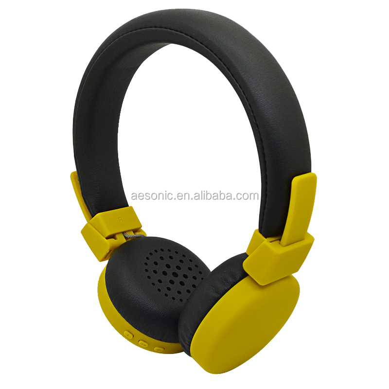 Superb bass stereo wireless BT headphone universal headset for mobile phone