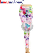 Women gym athletic running leggings <strong>sports</strong> colorful yoga pants