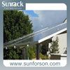 Commercial and Home use ground solar pole mounting system