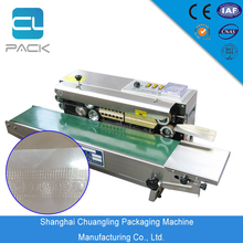 Semi automatic biscuit packaging machine / plastic bag packing machine vertical horizontal floor type