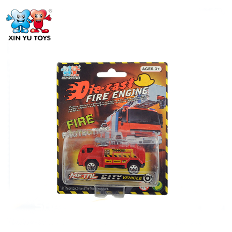 diecast fire truck custom made model car / miniature toy cars for child