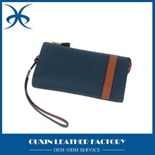 Hot Selling Casual Wallet Long Design Purse High Quality Genuine Leather Men Wallets Two Colors Available