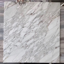 Commercial stone Calcutta Gold white wall design marble slab