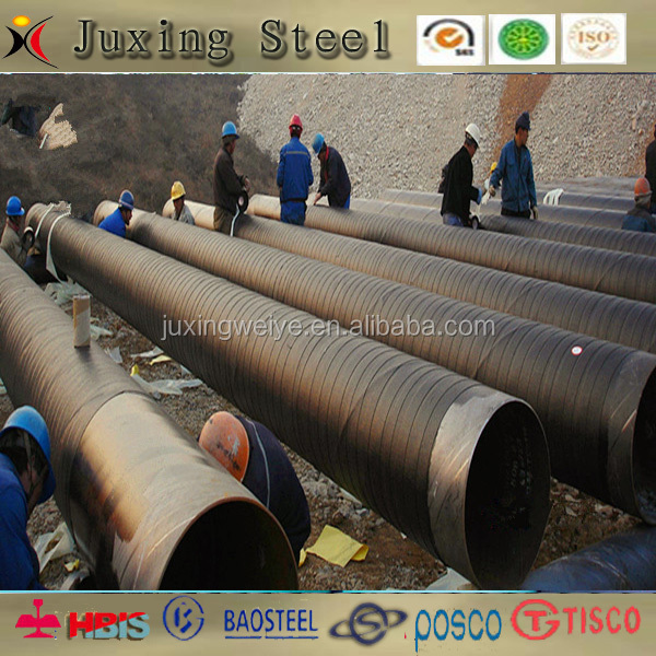 3 layer 3PE Anti-corrosion pipe and welded steel pipe X42