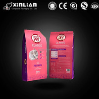 China factory price eight side sealing pet food bag