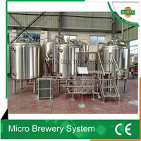 7bbl automated beer brewing system brewery equipment for sale