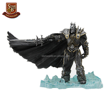 20CM game figures the lich king arthas menethil deluxe model toy resin cheap flexible action figure