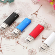 Wholesale 8gb cheap 3.0 memory custom logo no case 2 in 1 16gb stick 32gb usb flash drive